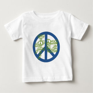 Peace 和 infant t-shirt