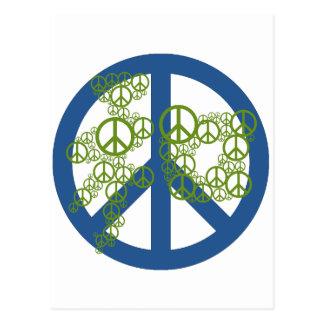 Peace 和 postcard