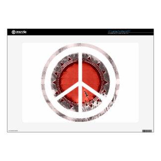 "Peace 15"" Laptop Decal"