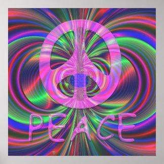 Peace. 24X24 Print