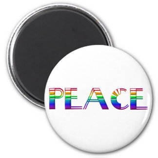 Peace #2 2 inch round magnet