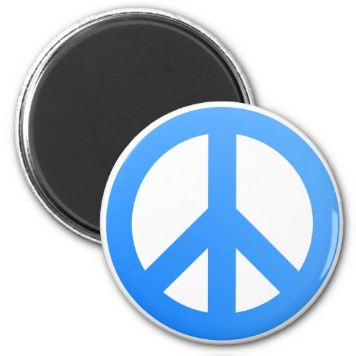 Peace! 2 Inch Round Magnet