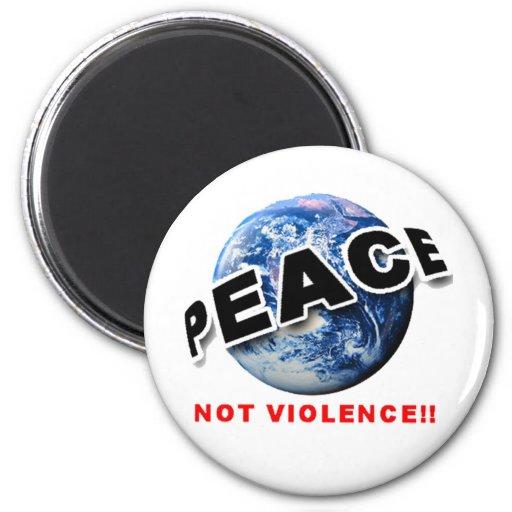 PEACE_34 IMÁN REDONDO 5 CM