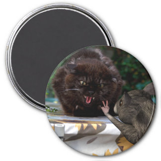 Peace ! 3 inch round magnet