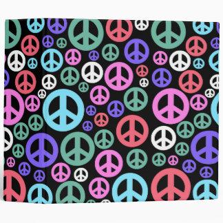 peace 3 ring binder