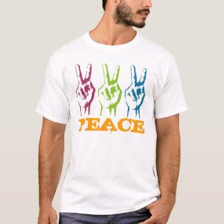 Peace 3 times symbols T-Shirt