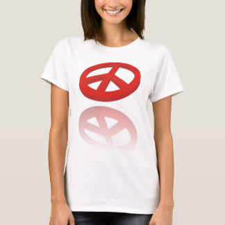 Peace 3D / reflexion T-Shirt