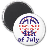 Peace 4th of July T-shirts and gifts Magnet