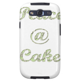 Peace A cake @ Galaxy S3 Case