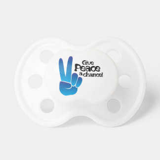 Peace A Chance BooginHead Pacifier