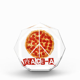 Peace-a for the pizza and peace  lover award