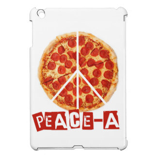 Peace-a for the pizza and peace  lover cover for the iPad mini