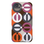 Peace-A-GoGo Orange iPhone 4/4S Speck Case iPhone 4 Covers