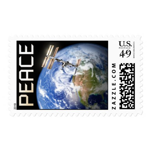 Peace Above Earth Postage