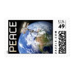 Peace Above Earth Postage Stamp