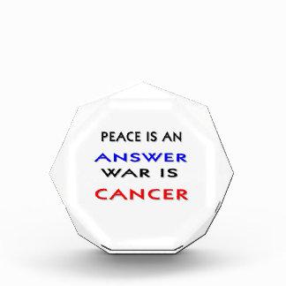 Peace Acrylic Award