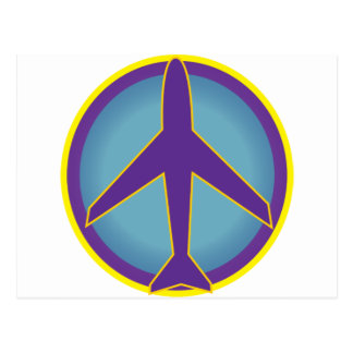 Peace Airplane- Widespread Panic Postcard