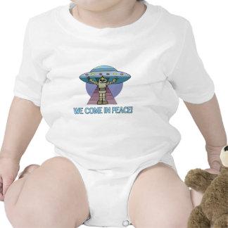Peace Alien Bodysuits
