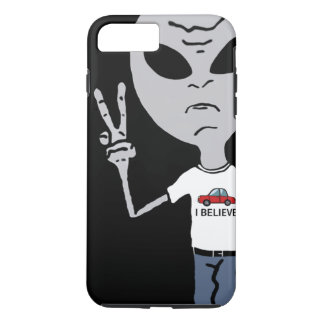 Peace Alien iPhone 8 Plus/7 Plus Case