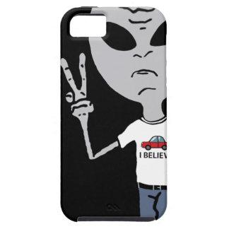 Peace Alien iPhone SE/5/5s Case