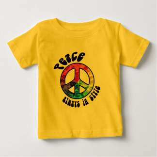 Peace: Always in Style Infant Tees