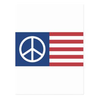 Peace:America Postcard
