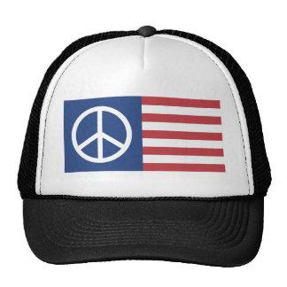 Peace:America Trucker Hat