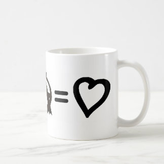 Peace + Anarchy = Love Coffee Mug
