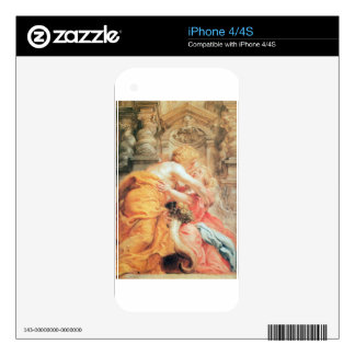Peace and Abundance by Peter Paul Rubens Skins For The iPhone 4