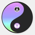 Peace and Balance sticker