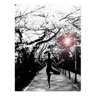 Peace and Balance - Yoga Postcard