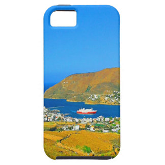 peace and beautyport ferry boat ferry ship island iPhone SE/5/5s case