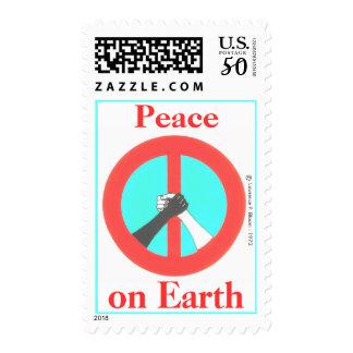 Peace [and brotherhood] on Earth    (medium size) Postage