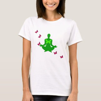 Peace and Butterfly - Yoga Shirts