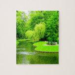 Peace and calm copenhagen denmark park puzzles