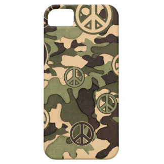 Peace and Camouflage iPhone 5 Cover