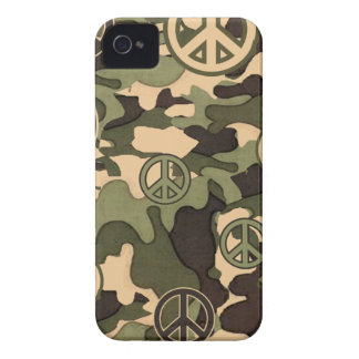 Peace and Camouflage iPhone 4 Cases