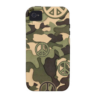 Peace and Camouflage Case For The iPhone 4