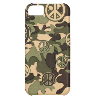Peace and Camouflage Case For iPhone 5C