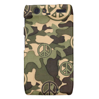 Peace and Camouflage Droid RAZR Case