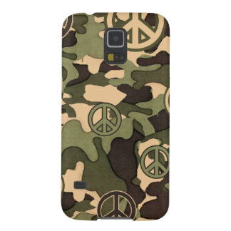 Peace and Camouflage Cases For Galaxy S5