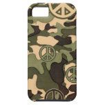 Peace and Camouflage iPhone 5 Case