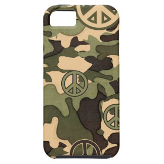 Peace and Camouflage iPhone SE/5/5s Case