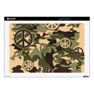 Peace and Camouflage Decals For Laptops