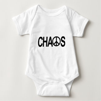 Peace and Chaos Baby Bodysuit