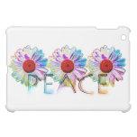 peace and daisies iPad mini case