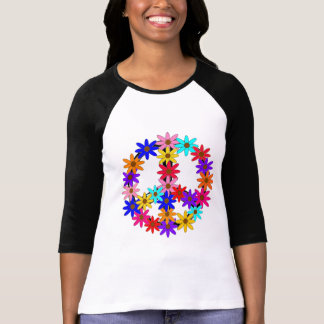 Peace and Flower Power T Shirt