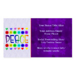 Peace and Flowers Business Card