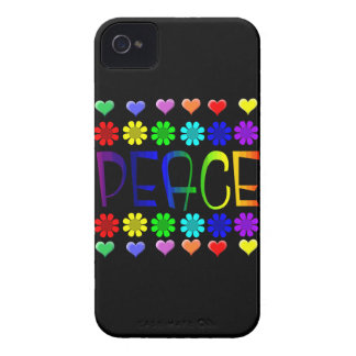 Peace and Flowers iPhone 4 Case
