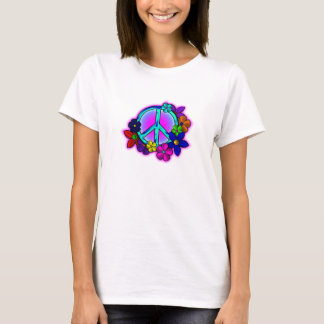Peace and Flowers T-Shirt